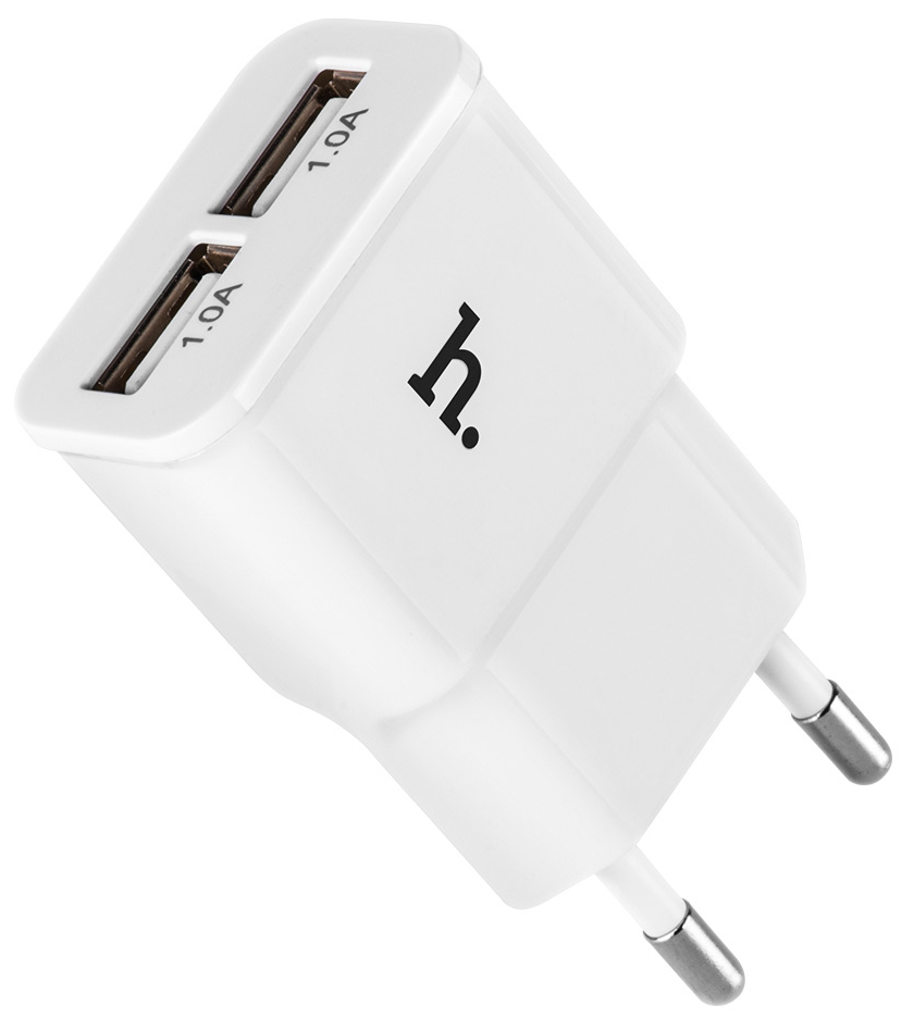 HOCO UH202 Double USB Charger (EU) White 01