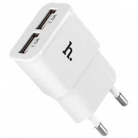 HOCO UH202 Double USB Charger (EU) White 05