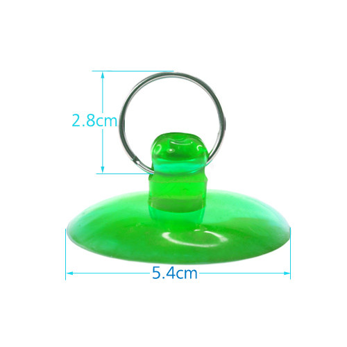 5.4cm Suction Cup Green