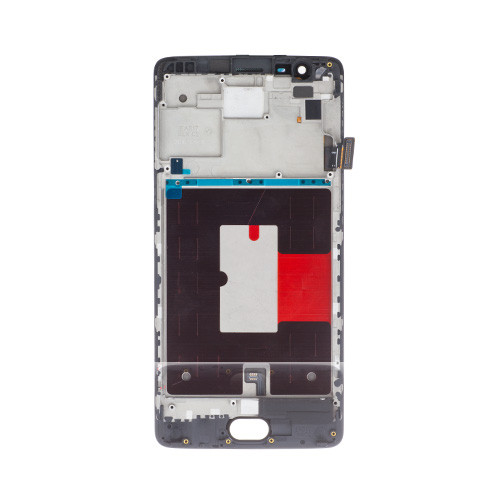 Custom Screen Replacement with Frame for OnePlus 3/3T Black