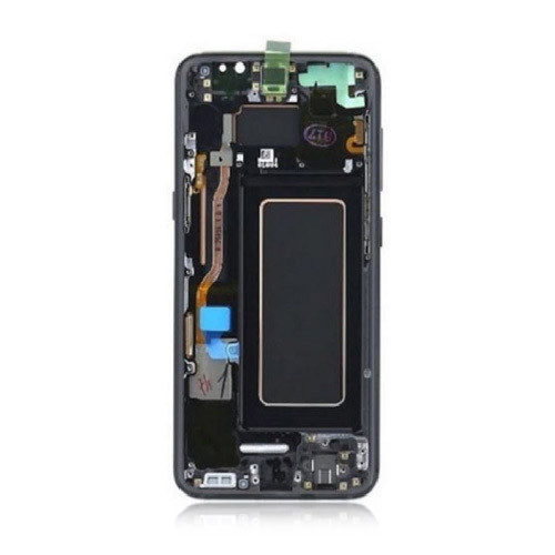 OEM Screen Replacement with Frame for Samsung Galaxy S8 Midnight Black