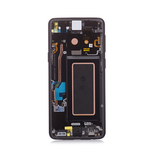 OEM AMOLED Screen Replacement with Frame for Samsung Galaxy S9 Midnight Black