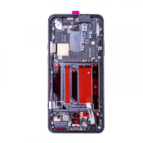 OEM Screen Replacement with Frame for OnePlus 7 Pro Mirror Gray