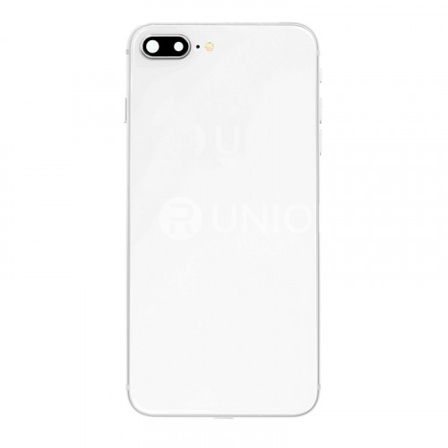 OEM Rear Housing Assembly with Battery Sticker for iPhone 8 Plus Silver