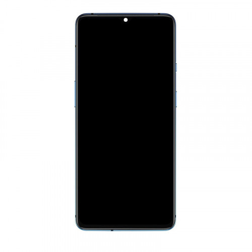 OEM Screen Replacement with Frame for Oneplus 7T Blue