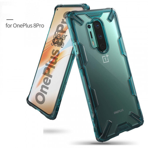 Ringke Shock-Proof Phone Case for Oneplus 8 Pro Camouflage Black
