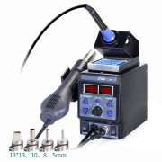 2 in 1 Heating Gun and soldering Iron station YIHUA-8786D-I (EU plug)
