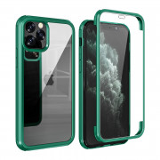 Shock Proof 360°Protection Phone Case for iPhone 11 Pro Max Deep Green