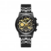 NEKTOM Hollow Out Watch Luminous Waterproof Watch Black