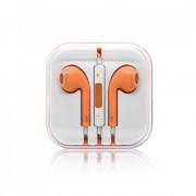 Custom Earphone for iPhone/iPad/iPod Orange