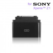 Magnetic Charger Adapter for Sony Xperia Z1 Black