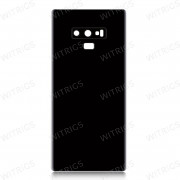 OEM Battery Cover with Camera Glass for Samsung Galaxy Note 9 Midnight Black