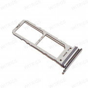OEM SIM Dual Card Tray for Samsung Galaxy Note10 Silver