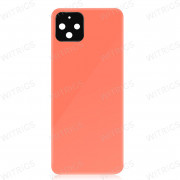 OEM Battery Cover with Camera Lens Cover for Google Pixel 4 Orange