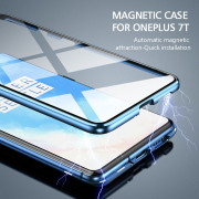 Magnetic Case for OnePlus 7T Blue