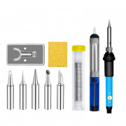 60W Temperature Adjustable Soldering Iron Kit 11 pieces(US plug)