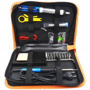 60W Temperature Adjustable Soldering Iron Kit 15 pieces(US plug)