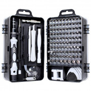 WEEKS 115 in 1 Repair Tool Kit Black