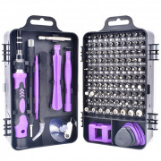 WEEKS 115 in 1 Repair Tool Kit Purple