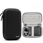 Sancore Earphone Storage Box (M-Rectangle-Black)