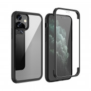 Shock Proof 360°Protection Phone Case for iPhone 11 Black