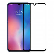 Full Tempered Glass Screen Protector for Xiaomi Mi 9 Black