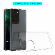 Transparent Phone Case for Samaung Galaxy S21 Ultra
