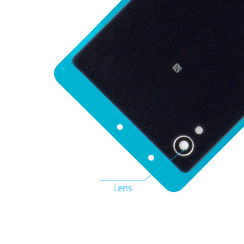 Leya Smartphone Repair Parts Back Battery Cover for Sony Xperia M4 Aqua Black Color : White