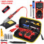 JCD Soldering Iron 80W with Digital Multimeter Kit (Red-EU 220V)-01